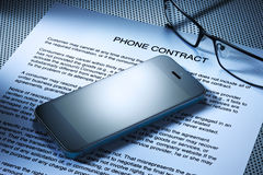 phone on phone contract