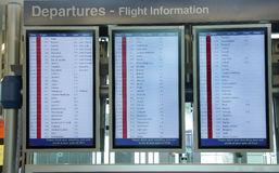 flight information on board